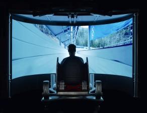 bobsled-Simulator-Silhouette